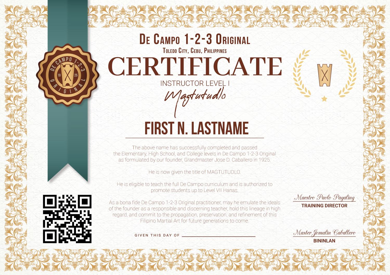 De-Campo-1-2-3-Original-Official-Certificate-2021